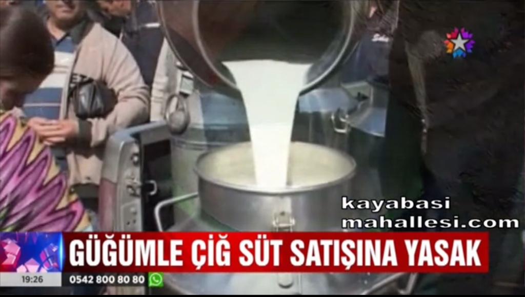 Açık çiğ süt satışı yasaklandı!