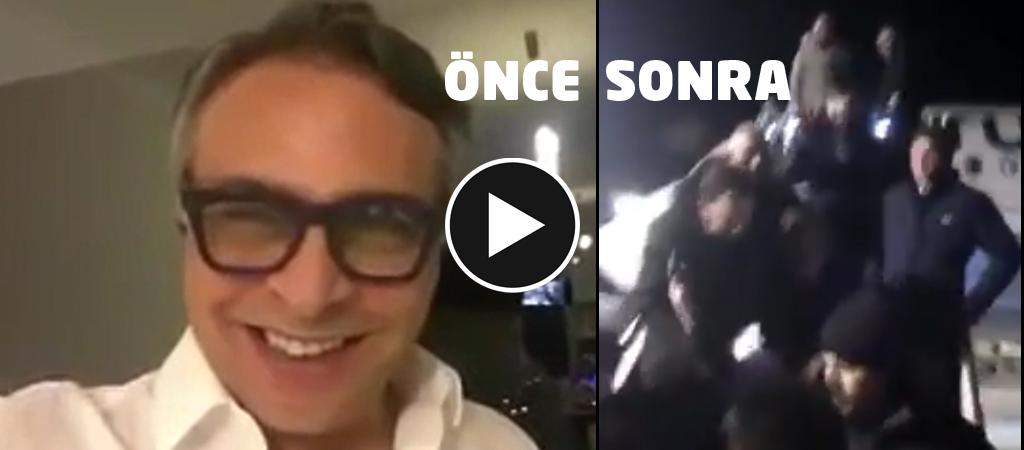 Barbaros Şansal ne dedi? Bokunuzda boğulun havalimanı neden dövüldü dayak linç videosu izle ahsen