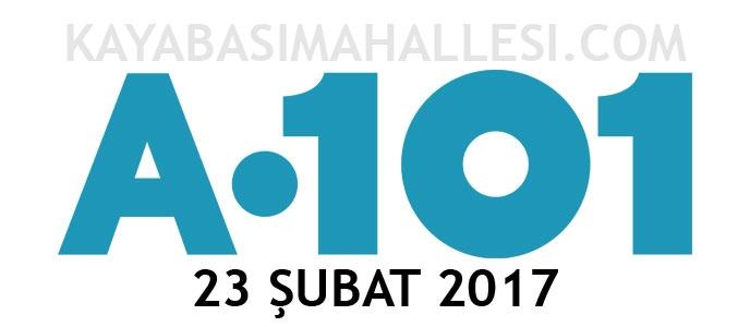 A101 23 Şubat 2017 Aktüel Ürünler Kataloğu Broşürleri