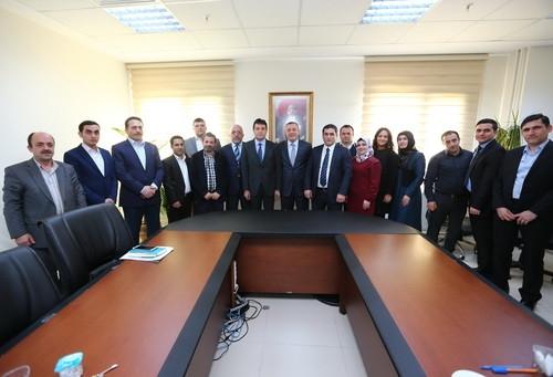 Başakşehir Belediyesi Kayaşehir'in temsilcilerini ağırladı