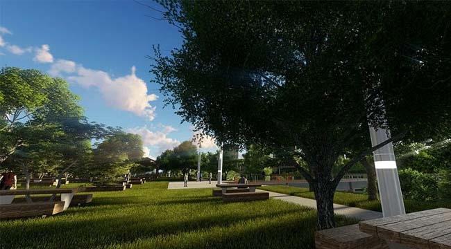 Kayaşehir Şehir Parkı Projesi bitmek üzere