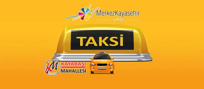 Kayaşehir Taksi Durağı Telefon Numarası TOKİ Merkez Kayaşehir AVM