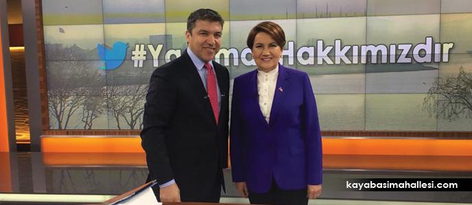 Meral Akşener Fox Tv'de İsmail Küçükkaya'nın sunduğu Çalar Saat'te Erdoğan'a çağrıda bulundu