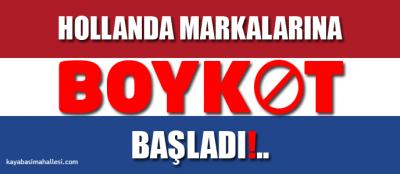 Hollanda Türkiye Krizi Boykot Son Dakika: Türkiye'deki Hollanda Firmalari Malları Ürünleri Şirketleri Nelerdir? Hollanda Markaları Ürünleri Listesi