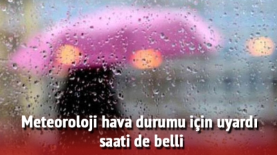 Meteoroloji istanbul uyarısı: Istanbul 5 günlük hava durumu