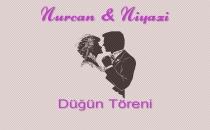 Nurcan ile Niyazi'nin düğün töreni