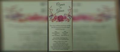 Öznur&Güner Tutum'un düğün töreni