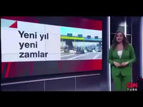 Yeni yıl zamlarını 'küçük tatlı zamlar' olarak niteleyen CNN Türk spikeri