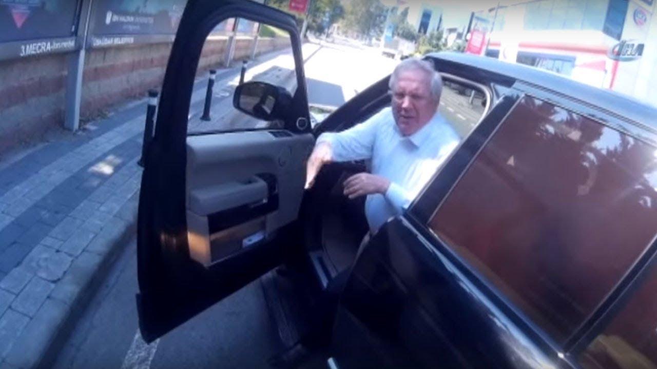 Aziz Yıldırım motosiklet sürücüsü ile Trafikte sinyal yüzünden kavga etti, motorcu tehdit edildi
