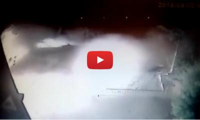Kayabaşı'ndaki patlama güvenlik kamerasında