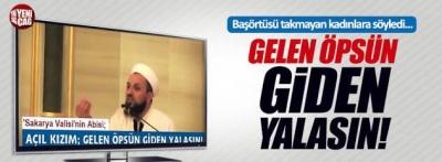 Metin Balkanlıoğlu Tesettürsüz kadınları gelen öpsün giden yalasın dedi Twitter Facebook yıkıldı