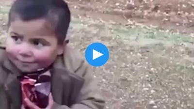 Ordumuz Afrin'de sivilleri vuruyormuş :) Evet, hem de kalbinden vuruyor!