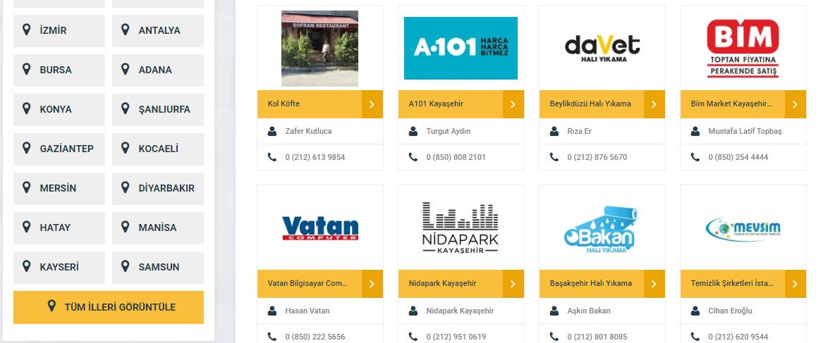 Türkiye'nin En Büyük Firma Rehberi: Firma Ekle!