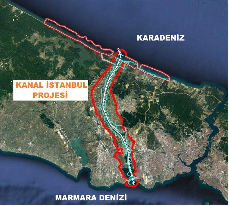 Kanal İstanbul Çed Raporu