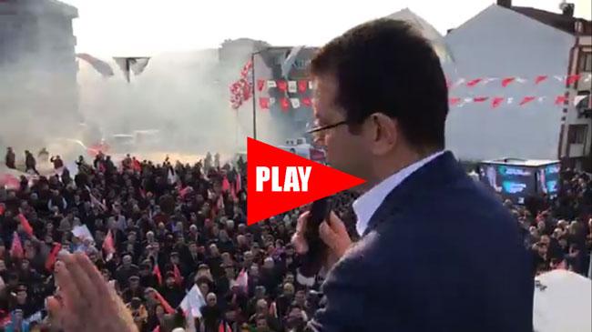 Ekrem İmamoğlu Başakşehir Güvercintepe Mitinginde Halka Seslendi
