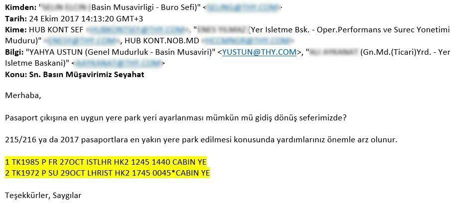 Airtporhaber'in sahibi, Usta gazeteci Ali Kıdık, THY Basın Müşaviri Yahya Üstün'ün saltanatını belgeleriyle ortaya çıkardı