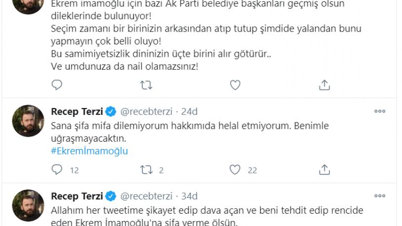 Ünlü oyuncudan koronavirüse yakalanan Ekrem İmamoğlu'na şok sözler!