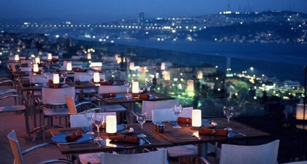 Restoran ve romantik akşam yemeği için İstanbul mekanlar