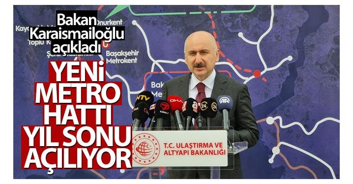 Başakşehir Şehir Hastanesi-Kayaşehir metro hattı açılacak