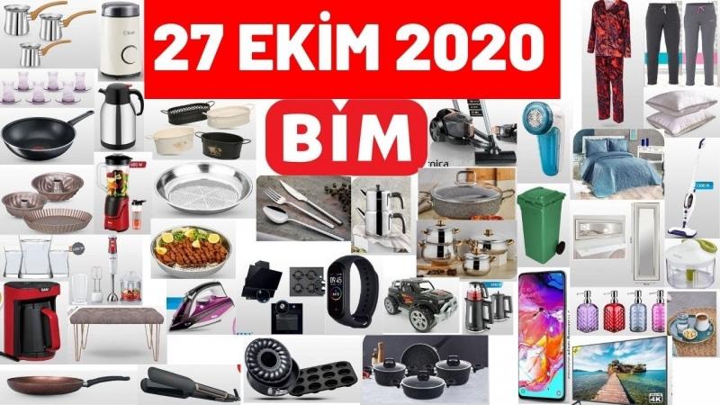 BİM Aktüel Ürünler 27 Ekim 2020 Salı