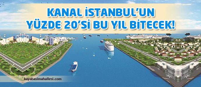 Kanal İstanbul güzergahı tamam, yüzde 20'si de 2017'de bitecek