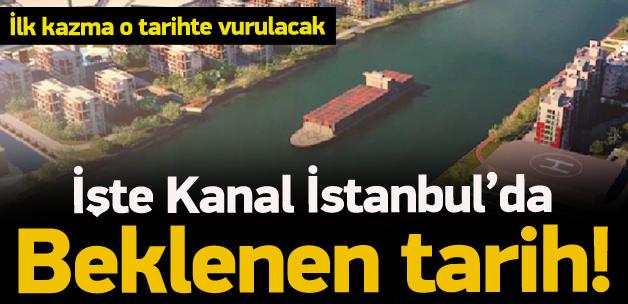 Kanal İstanbul İçin Tarih Verildi!