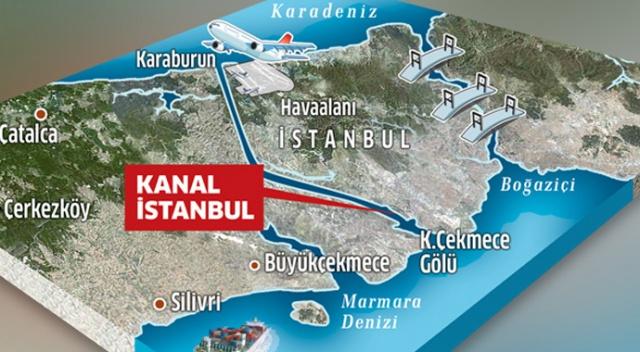 Kanal İstanbul projesi güzergahı tamam! İhalesi için Çinliler ve Türkler yarışıyor 2017