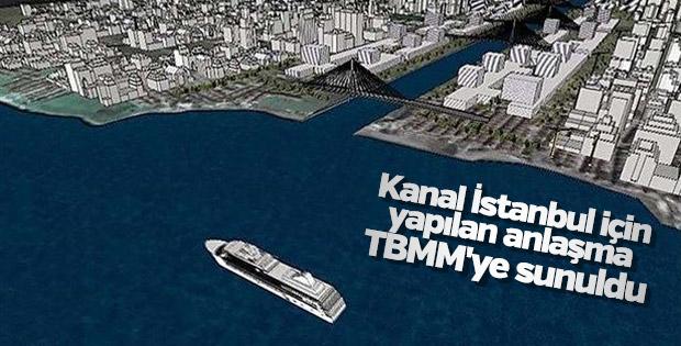 Son Dakika: Güzergahı Saklanan Kanal İstanbul Projesi TBMM'de (2017)