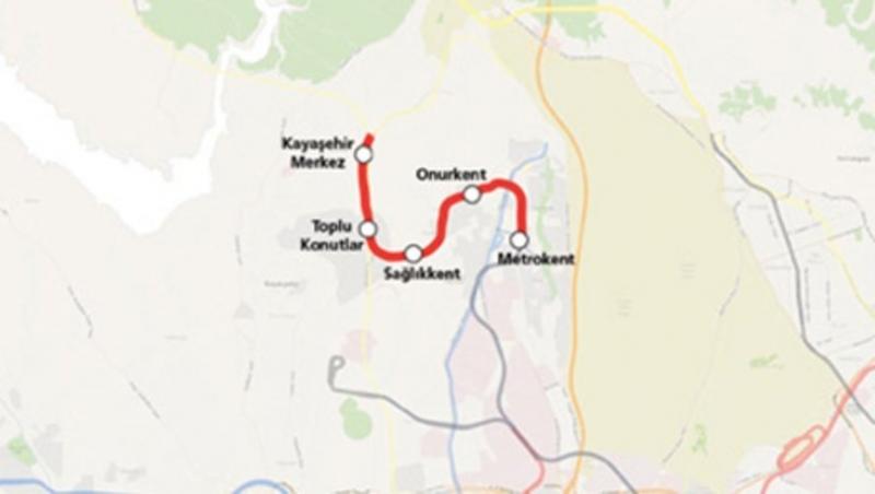 M3 Başakşehir Kayaşehir Metro Hattı Ne Zaman Açılacak Nerelere Gidecek Nereden Geçecek? Metro Durakları İstanbul Metro Haritası