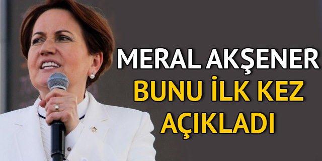 Meral Akşener son dakika yeni parti açıklaması Twitter'ı salladı! İşte partisi