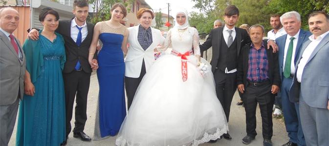 Meral Akşener'in Kayabaşı ziyareti
