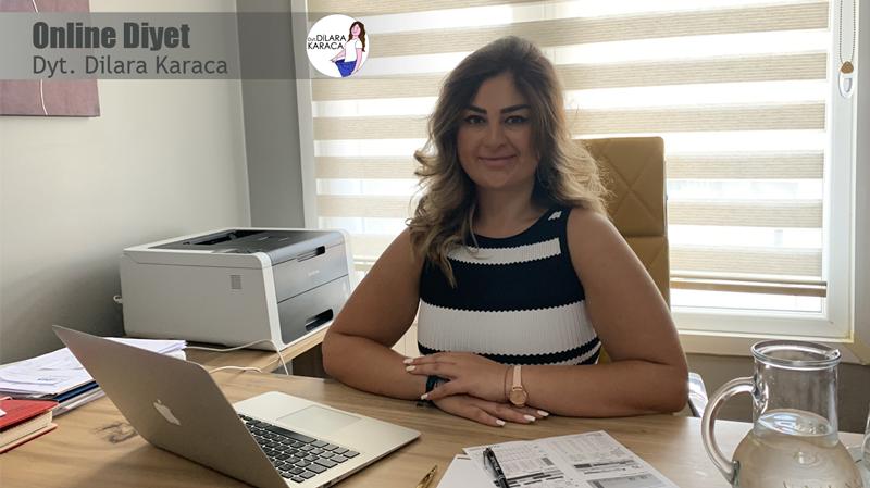 Online Diyet İstanbul En İyi Diyetisyen Tavsiyesi Önerisi Dilara Karaca