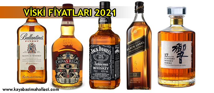 Viski Fiyatları 2021 Jack Daniels Chivas Regal Red Label