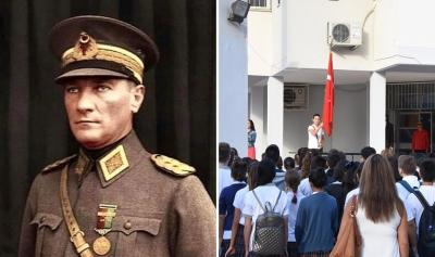 Okullardan Andımız, madalyalardan da Atatürk kabartması kaldırıldı