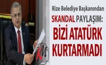 Atatürk Heykelini kaldıran Rize Belediye Başkanı Reşat Kasap: Bizi Atatürk kurtarmadı