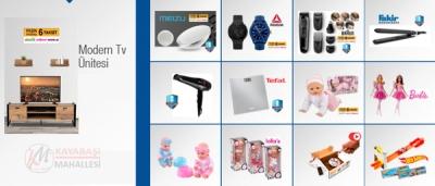 BİM 28 Aralık 2018 katalogu bu hafta braun tıraş makinesi reebok saat