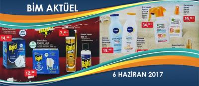 BİM Aktüel Ürünler 6 Haziran 2017 Kataloğu ve Fiyatları
