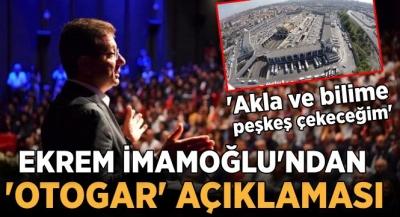 Birilerine çok kötü haber: İstanbul'un çifte mazbatalı başkanı Ekrem İmamoğlu, Esenler Otogarı'nı akla ve bilime peşkeş çekecek!