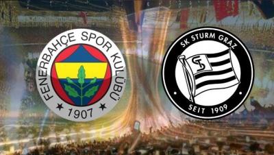 Fenerbahçe Sturm Graz maçı saat kaçta? hangi kanalda yayınlanacak? şifresiz izle (kadrosu ilk 11'i)