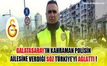 Galatasaray'ın şehit polis Fethi Sekin'in ailesine verdiği söz Türkiye'yi ağlattı!