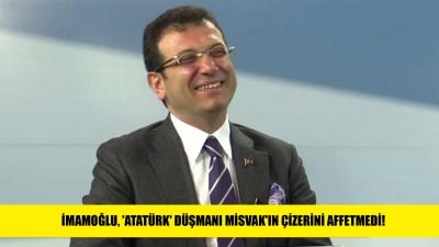 İmamoğlu, azılı 'Atatürk' düşmanı Misvak'ın çizerini affetmedi!