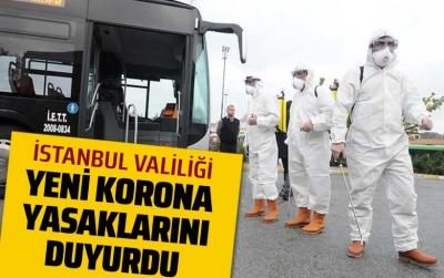İstanbul'da yasaklar başlıyor!