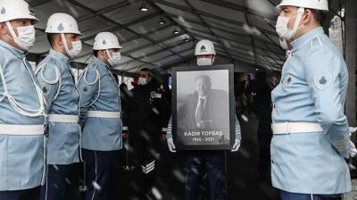 İstanbul'un abisi Kadir Topbaş'a veda!