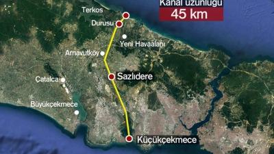 Kanal İstanbul Projesi, 26 bin hektar alana yapılacak