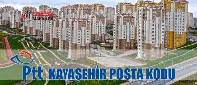 Kayaşehir Posta Kodu