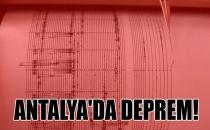 Son dakika haberleri: Antalya Kumlucada deprem!