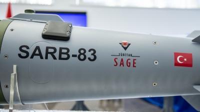 TÜBİTAK'ın geliştirdiği SARB-83 göreve hazır
