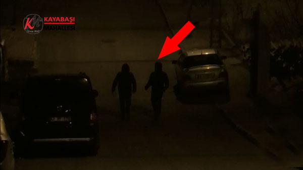 Hızır Aleyhisselam kandil gecesi Başakşehir Şahintepe'de kameraya yakalandı!