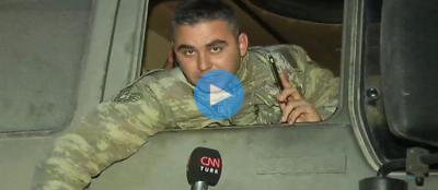 Afrin operasyonuna giden tank komutanının Türk halkından isteği tüyleri diken diken etti!