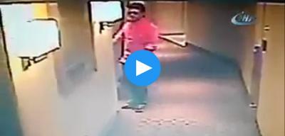 Vatan Şaşmaz'ın ölmeden saniyeler öncesi son otel görüntüsü! Dehşet anı görüntüleri videosu izle